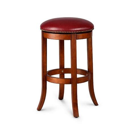 nailhead bar stool leather swivel bar stool faux leather walnut finish nailhead