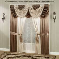waterfall valance portia i waterfall valance window treatment