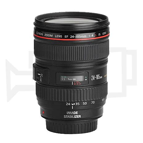 canon 24 105mm l series lens (f/4.0 is) mld equipment rental