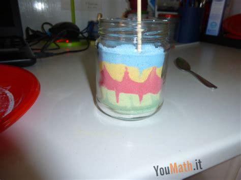 vasi con sabbia colorata sabbia colorata
