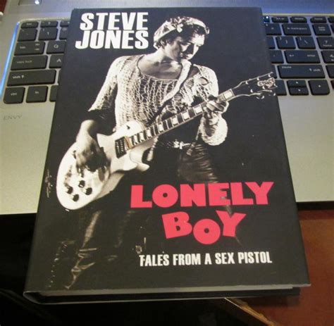 lonely boy tales from 0099510537 steve hand signed book lonely boy tales from a se