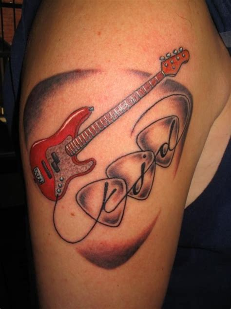 rest in peace dad tattoo designs rest in peace tattoos jazz bass 100 ideas
