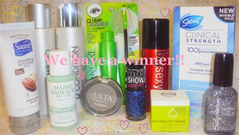 Beauty Product Giveaways - free beauty products giveaway winner beauty and lifestyle blog chic from hair 2 toe