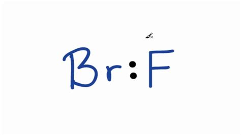 lewis dot diagram for bromine brf lewis structure how to draw the lewis structure for