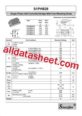 freewheeling diode specifications free wheeling diode part number 28 images bym300a120dn2 datasheet pdf eupec gmbh sk50gal065