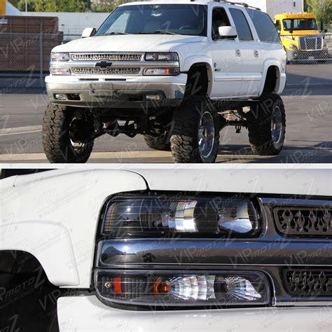2002 chevy silverado tail lights 1999 2002 chevy silverado 1500 2500 black headlights