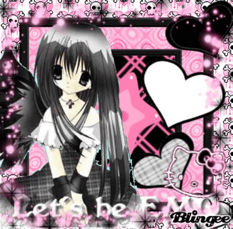 imagenes de anime emo girl anime emo picture 117388029 blingee com