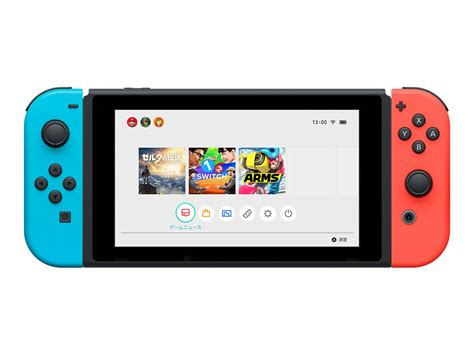 Nintendo Switch Neon Blue nintendo switch with neon blue and neon con console 32 gb flash black neon