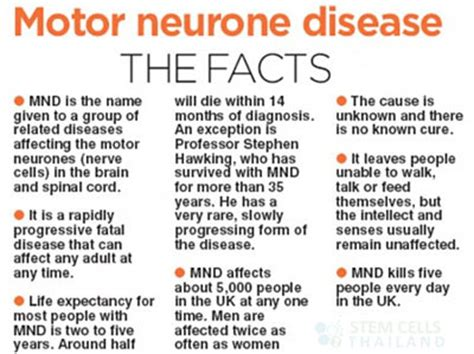 prognosis for motor neurone disease motor neuron disease lateral sclerosis anterior horn
