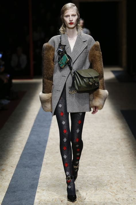 Catwalk To Carpet Allen In Prada by Prada Fall 2016 Ready To Wear Collection Vogue