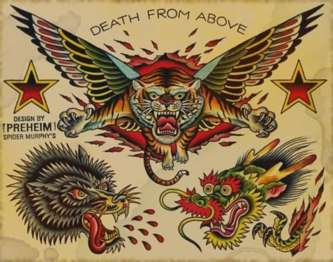 death from above tattoo from above flash kysa ink design