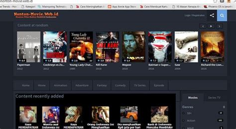 streaming film izombie sub indo inilah 10 website streaming film terbaik di indonesia 100