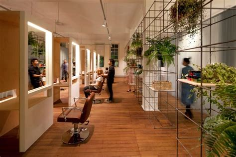 Naturalistic Hair Salons | modern beauty salon in sydney dazzles with its sustainable
