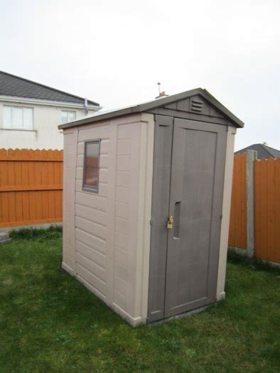 Plastic Garden Sheds For Sale by 4 X 6 Keter Plastic Apex Garden Shed For Sale In Cashel Tipperary From Mart Pl