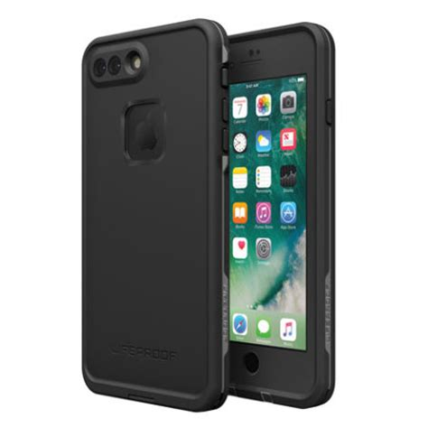 lifeproof fre iphone   waterproof case black