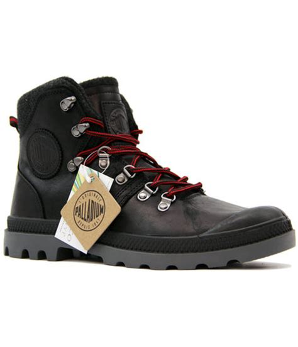 palladium hiking boots palladium pallabrouse hikr retro mod leather hiking boots