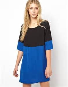 color block dresses shift dress in color block with sleeve
