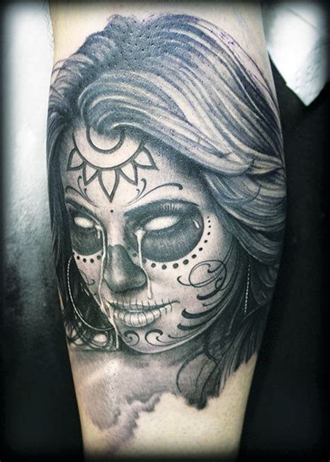 day of the dead tattoos designs day of the dead designs society magazine