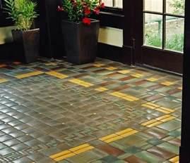 Craftsman Style Flooring by Tile Floor Craftsman Bungalow Ideas Pinterest