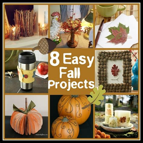 easy fall craft ideas for easy fall crafts
