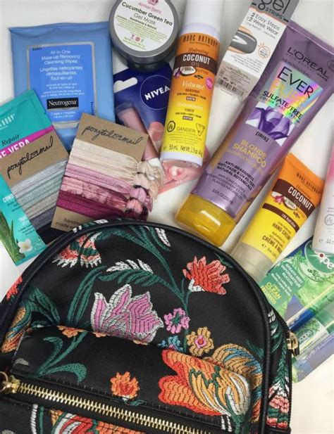 Canada Contests And Sweepstakes - sheblogs canada contest win a a beauty gift bag with backpack and travel beauty