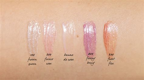 by terry rose de rose swatches shameless fripperies by terry impearlious baume de rose and ombre blackstar