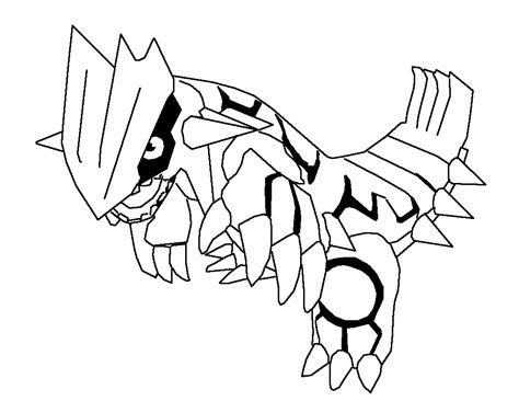 groudon coloring pages az coloring pages