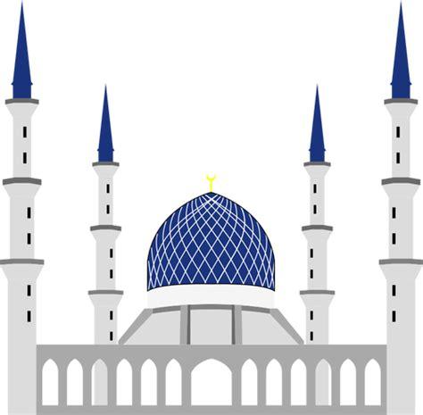 sultan salahuddin abdul aziz shah mosque vector image