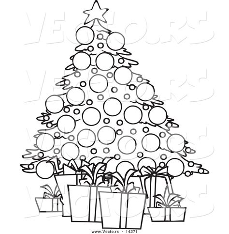 christmas tree with gifts coloring page christmas tree with presents coloring page az coloring pages