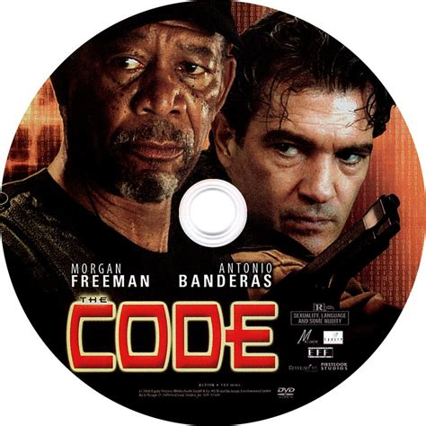 the code the code label scanned dvd labels the code label