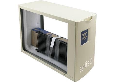 bel aire aprilaire  media air cleaner