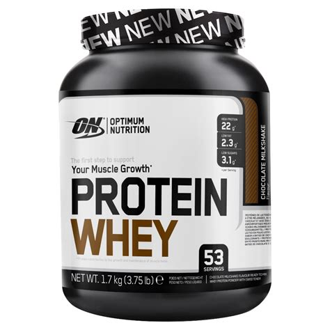 L Whey Protein Protein Whey 53 Servings Protein Optimum Nutrition