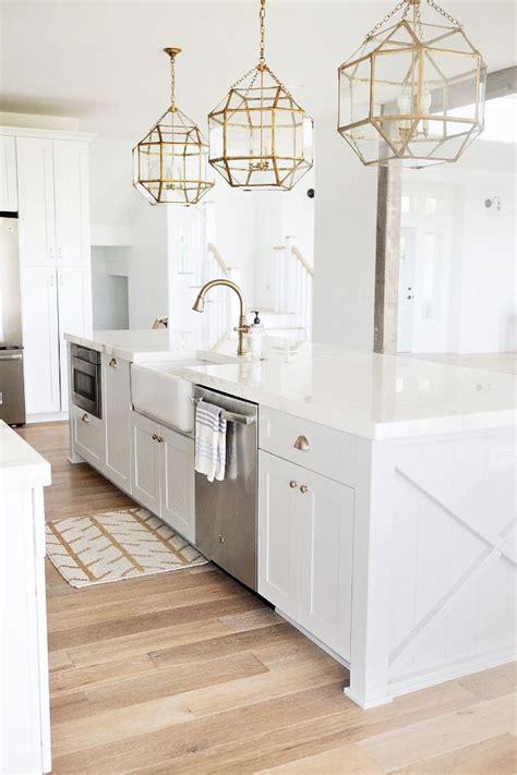 Kitchen Chandelier Pinterest Beautiful Homes Of Instagram White Kitchen Decor Gold Chandelier Gold Kitchen Lighting