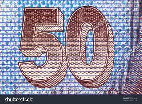 pattern on banknotes figures protective pattern on slovak banknotes stock photo
