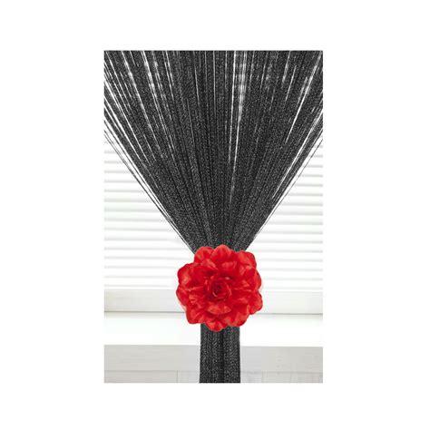 flower curtain holdbacks silk organza rose tie backs voile net curtains flower