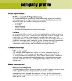 organization profile template 32 free company profile templates in word excel pdf
