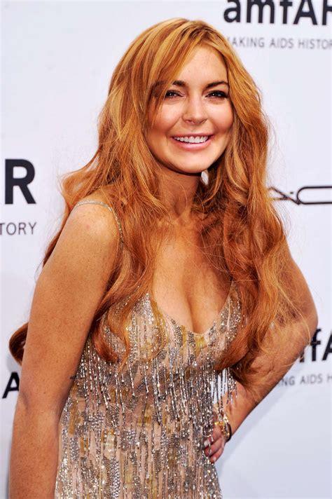 Lohans New by Lindsay Lohan 2013 Amfar New York Gala 02 Gotceleb
