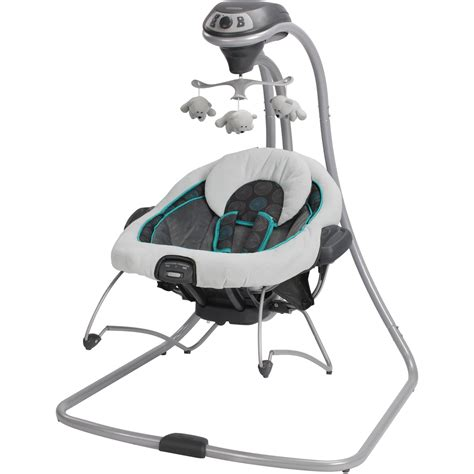 swing and bouncer in one graco duetconnect swing baby bouncer bristol removable