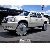 Cadillac Escalade With 30in DUB Swyrl Wheels Exclusively