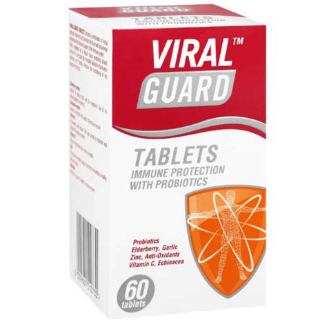 Viral Guard Colds & Flu Immune Protection 60 Tablets   Clicks