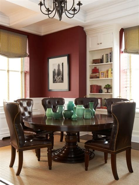 Burgundy Dining Room Color Of The Month Decorating With Burgundy Abode