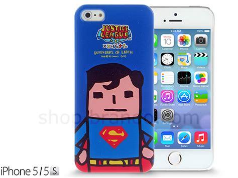 Casing Iphone 5 5s Superman L0141 iphone 5 5s justice league x korejanai dc comics heroes