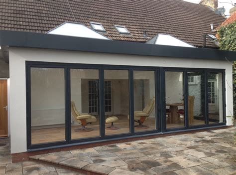 Ultra Modern Interior Design by Flat Roof Extension Rcdbuild