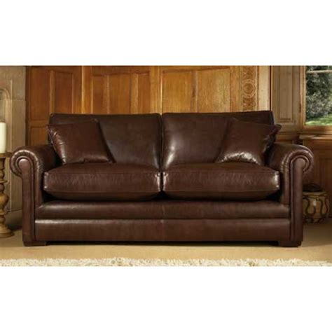 parker knoll settee parker knoll canterbury grand sofa in leather and fabric