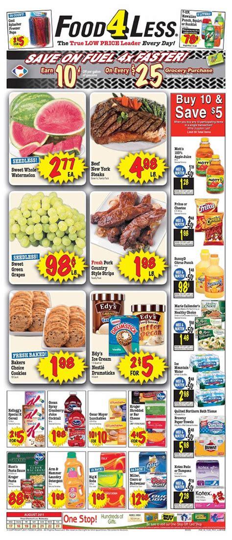 printable coupons food 4 less food4less weekly circular grocery store