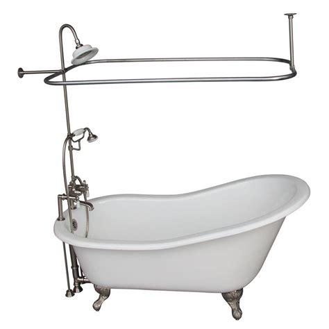 3 foot bathtub barclay products 5 6 ft cast iron ball and claw feet
