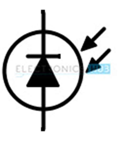 photodiode symbol light sensing using ldr photodiode and phototransistor
