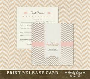 Print Release Template by Photography Print Release Template For By Lovelydayscreative