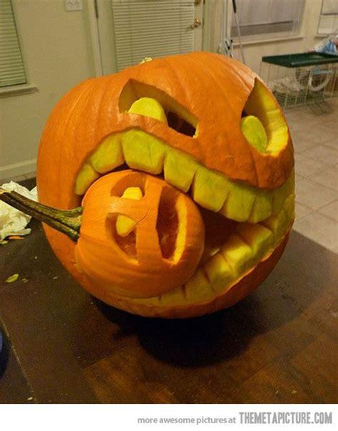 cool pumpkin carving ideas  pinterest cool