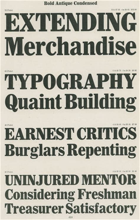 Meme Font Type - the specimen from type catalog to design meme fonts in use